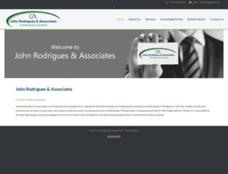 cajohnrodrigues.com screenshot
