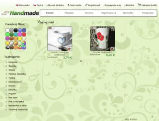 cajovy-riad.handmade.sk screenshot