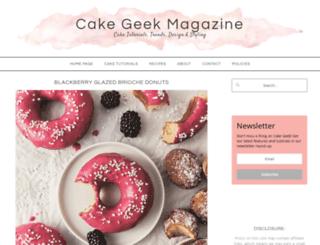 cake-geek.com screenshot