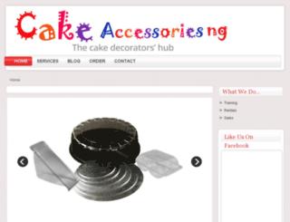 cakeaccessoriesng.com screenshot