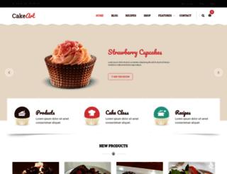 cakeart.thimpress.com screenshot