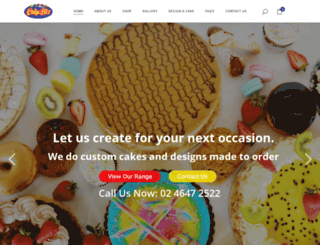 cakebiz.com.au screenshot