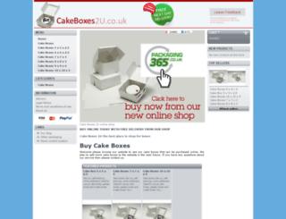 cakeboxes2u.co.uk screenshot