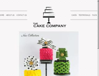 cakecompanydfw.com screenshot
