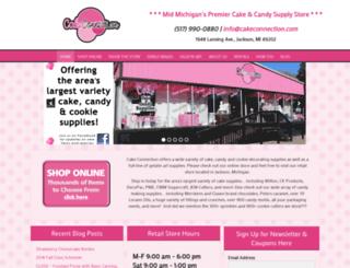 cakeconnection.com screenshot