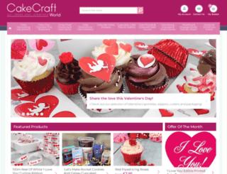 cakecraftworld.com screenshot