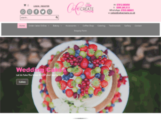 cakecreate.co.uk screenshot