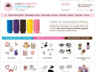 cakedecoratingsupplies.co.uk screenshot