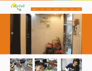 cakedeli.com.hk screenshot