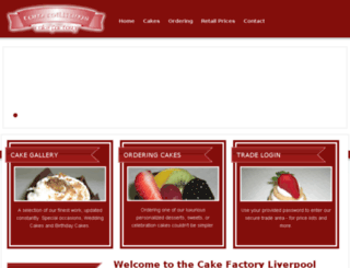 cakefactory.co.uk screenshot