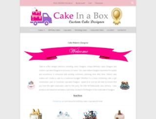 cakeinabox.co.uk screenshot