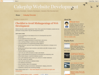 cakephpdevelopers.blogspot.in screenshot