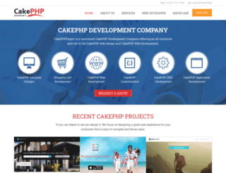 cakephpexpert.com screenshot