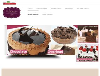 cakesandbakery.com screenshot