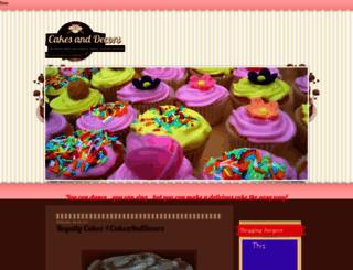 cakesanddecors.blogspot.com screenshot