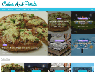 cakesandpetals.co screenshot