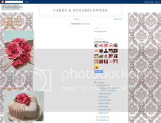 cakesandsugarflowers.blogspot.com screenshot