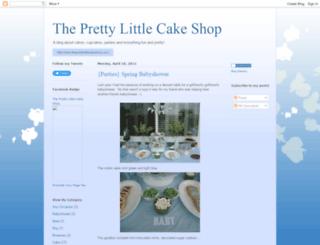 cakeshopjourney.blogspot.com screenshot