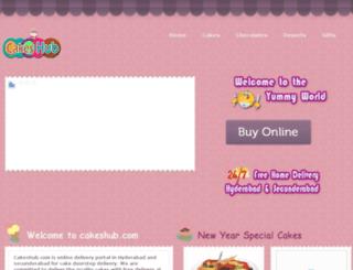 cakeshub.com screenshot