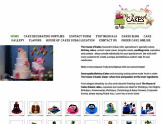cakesindubai.com screenshot