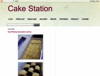 cakestation.blogspot.com screenshot
