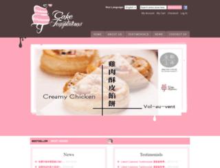caketemptations.com.hk screenshot