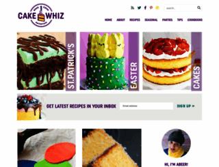 cakewhiz.com screenshot