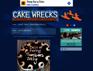cakewrecks.com screenshot