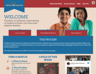 cakidsconnection.com screenshot