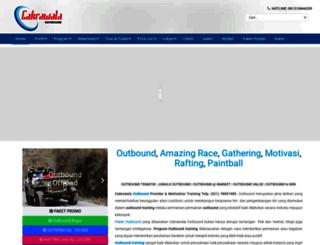 cakrawalaoutbound.com screenshot
