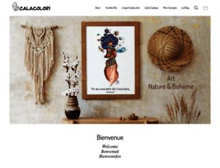 calacolori.com screenshot