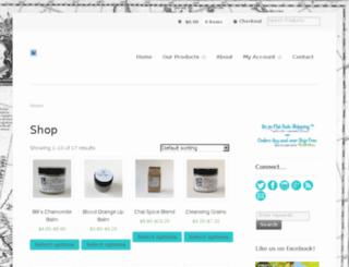 calafianaturals.com screenshot