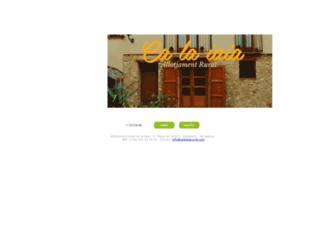 calaiaiarural.com screenshot
