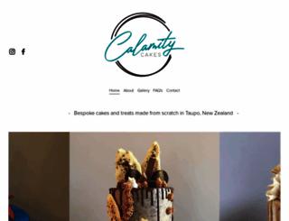 calamitycakes.co.nz screenshot