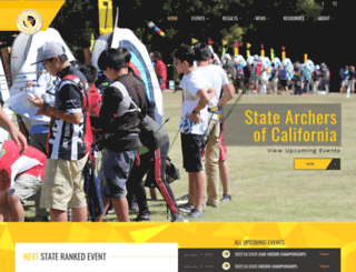 calarchery.net screenshot