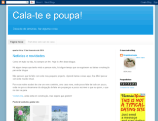 calateepoupa.blogspot.com screenshot