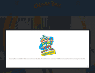 calawaypark.com screenshot