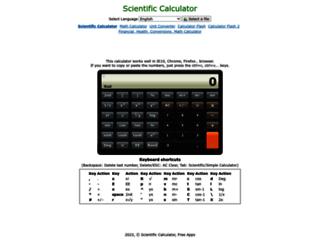 calc.thetimetube.com screenshot