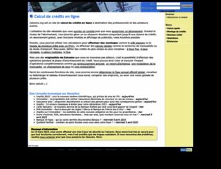 calcamo.org screenshot