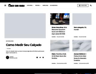calcecomestilo.com.br screenshot