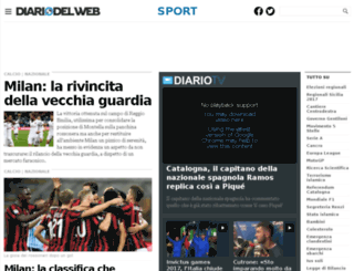 calcio.diariodelweb.it screenshot