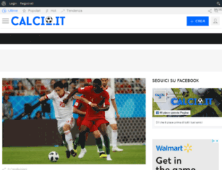 calcio.it screenshot