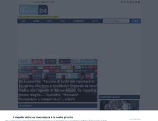 calcionapoli24.com screenshot