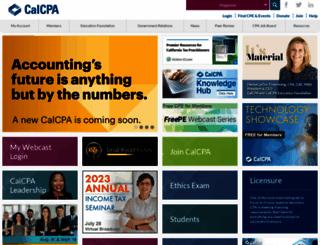 calcpa.org screenshot