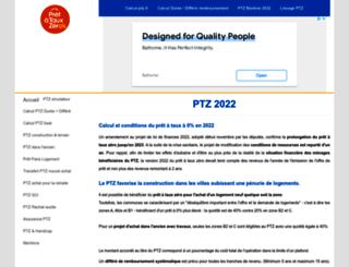 calcul-ptz.fr screenshot