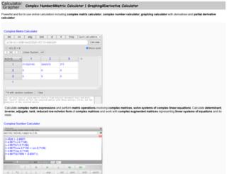 calculator-grapher.com screenshot