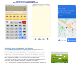 calculatoria.com screenshot
