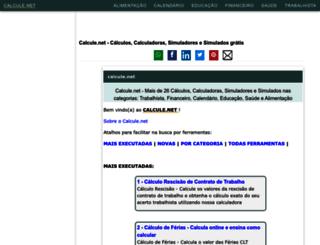 calcule.net screenshot