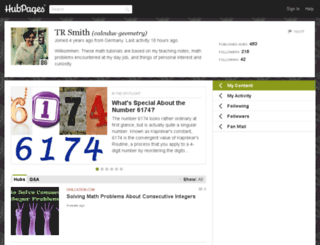 calculus-geometry.hubpages.com screenshot