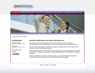 calcutronic.info screenshot
